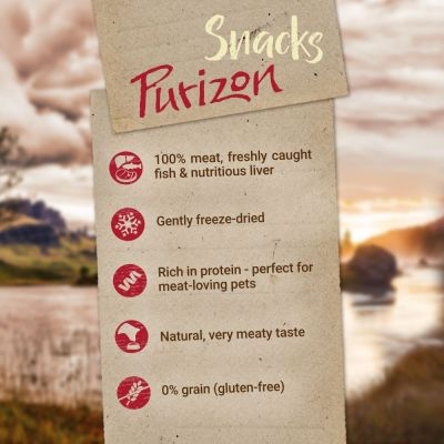 Purizon Dog Snacks - Grain-Free Beef & Chicken