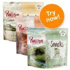 Purizon Dog Snacks Grain-Free Mixed Trial Pack 3 x 100g