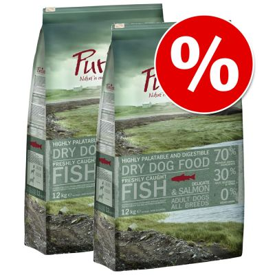 Purizon Dry Dog Food Economy Packs 2 x 12kg