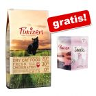 Purizon karma dla kota 6,5 kg + Snack, kaczka z rybą, 40 g gratis!