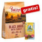 Purizon, 12 kg + Barkoo Dental Snacks, dla średnich psów, 180 g gratis!