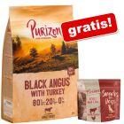 Purizon, 12 kg + Purizon Snack, wołowina i kurczak (bez zbóż), 100 g gratis!