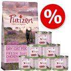 Purizon Kitten ração para gatos 400 g + Feringa Kitten 6 x 200 g - Pack de experimentação misto