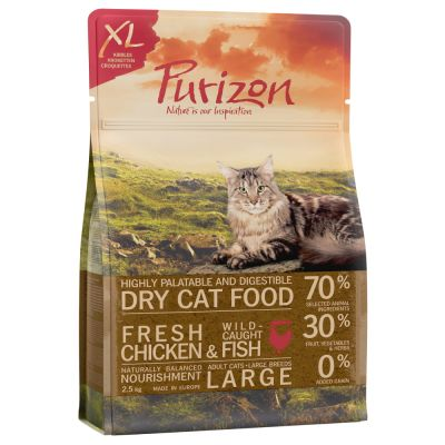 Purizon Large Adult Gatto - Pollo & Pesce