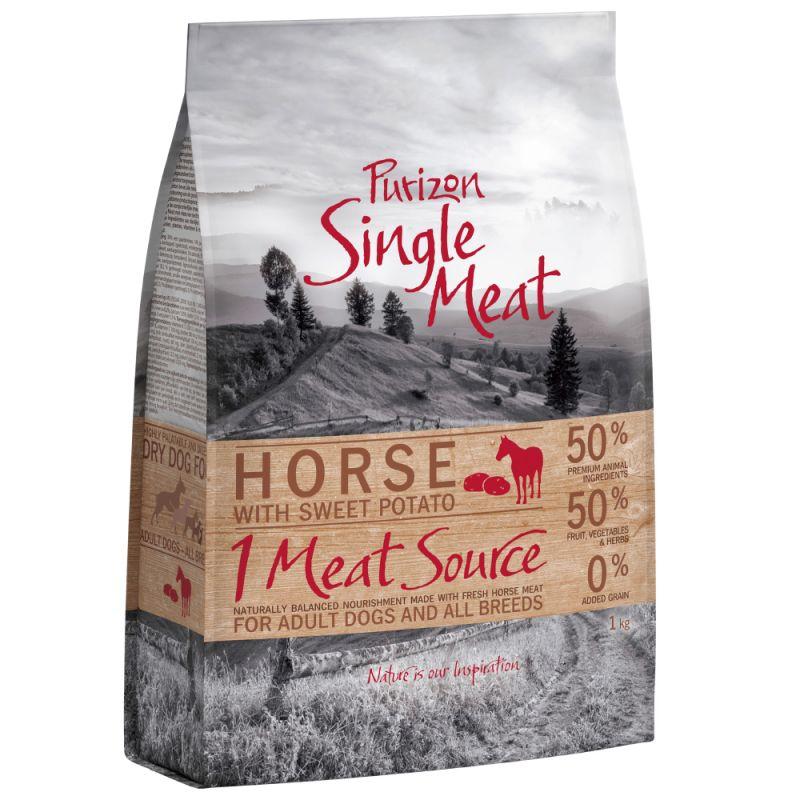 Purizon Single Meat Adult Cavallo con patate dolci - senza cereali
