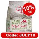 Purizon Single Meat Adult Dog - Grain-Free Lamb with Peas
