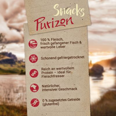 Purizon Snack Lamm & Fisch