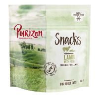 Purizon Snack per gatti Agnello con Pesce - senza cereali