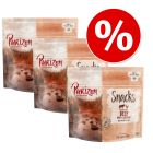 Purizon Snack varčno pakiranje 3 x 100 g