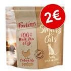 Purizon snacks de pollo y pescado para gatos ¡por solo 2€!