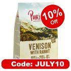 Purizon Venison with Rabbit Adult – Grain-free