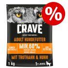 20 % rabatt! Crave Adult torrfoder för hund