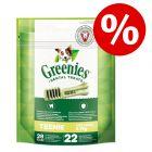 25% rabatt!  Greenies Tannpleie Tyggesnacks