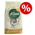 10€ Rabatt! 10 kg Lukullus A Casa Knuspriges Huhn mit Kräutern