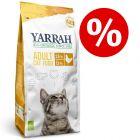 15 % rabatt på 10 kg Yarrah Organic torrfoder!