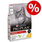15% rabatt ved kjøp av 3 kg Pro Plan tørrfôr!