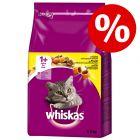 20% rabatt!  Whiskas tørrfòr for katter