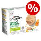 20 % rabatt! 12 x 85 g Gourmet Nature's Creations til spesialpris!
