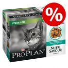 25 % rabatt! 40 x 85 g Purina Pro Plan Nutrisavour Sterilised