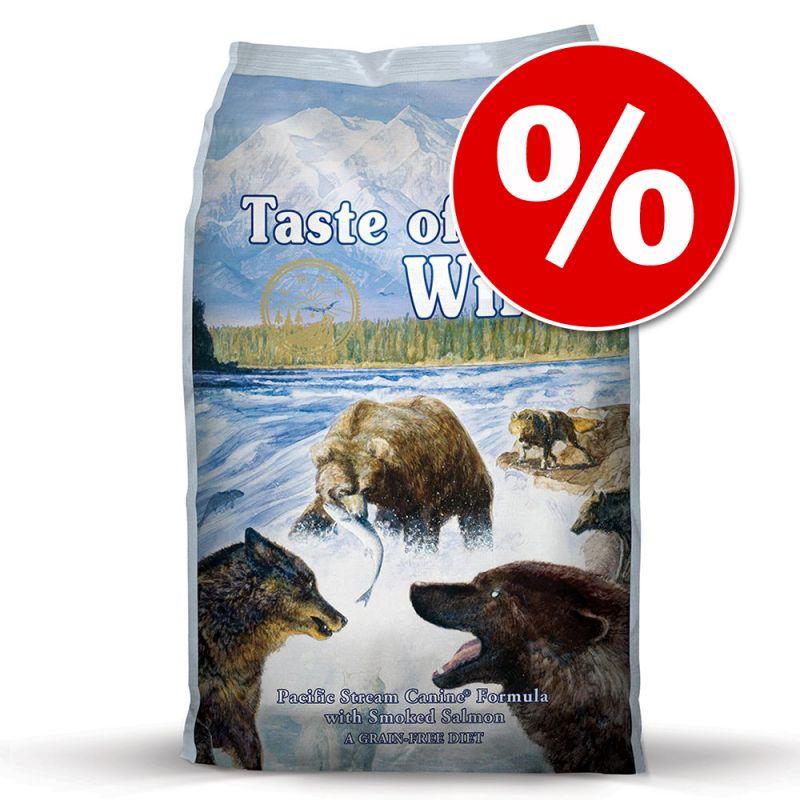 Rabattpris! 13 kg Taste of the Wild hundfoder