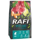 Rafi Junior, z jagnięciną