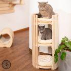 Rascador barril Natural Paradise Prison Break para gatos