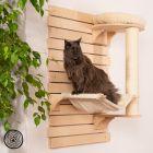 Rascador de pared Natural Paradise Dahlia para gatos