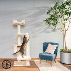Rascador Natural Paradise Quadra III para gatos