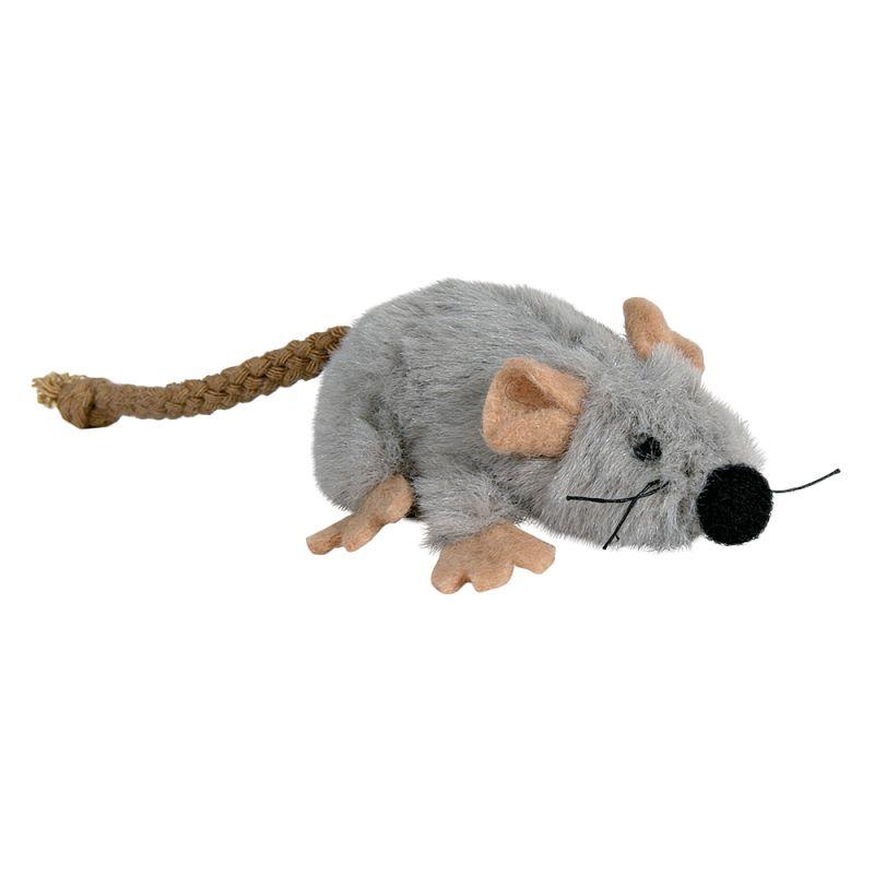 Ratón de juguete de Trixie con catnip para gatos