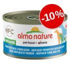 10% reducere! Almo Nature HFC 6 x 95 g conserve câini
