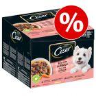 10% reducere! Cesar Fine Pliculețe cu sortimente în sos 24 x 100 g