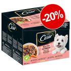 20% reducere! Cesar Fine Pliculețe cu sortimente în sos 24 x 100 g