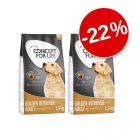 22% reducere! Concept for Life 2 x 1,5 kg hrană uscată câini