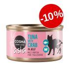 10% reducere! Cosma Asia în gelatină 6 x 85 g