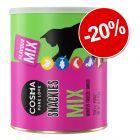 20% Reducere! Cosma Snackies Maxi Tube sau XXL Maxi Tube snackuri pisici
