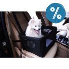 10% reducere! Cușcă auto pentru câini mici
