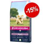 15% reducere! Eukanuba hrană uscată pentru câini