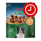 50% reducere! 150 g Rocco Cubes Snackuri delicioase pentru câini