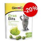 20% reducere! GimCat GrasBits, 140 g