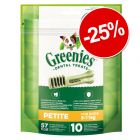 25% reducere! Greenies snackuri dentare de ros