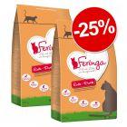 25% reducere! Hrană uscată Feringa 2 x 400 g