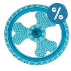 10% reducere! Jucărie tip frisbee pentru câini din TPR cu LED