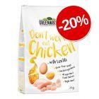 20% reducere! 3 kg Greenwoods Adult hrană uscată