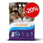 20% reducere! 7 kg Intersand Classic Așternut pentru pisici