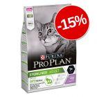 15% reducere! 3 kg Purina Pro Plan Cat