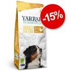 15% reducere! 10 kg sau 15 kg  Yarrah Bio hrană uscată câini