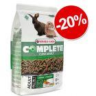 20% reducere! 1,75 kg Versele-Laga Cuni Adult Complete Hrană iepuri