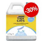 30% reducere! 7 / 20 l Purina Tidy Cats Lightweight Nisip