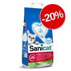 20% reducere! 4 l Sanicat 7 Days Aloe Vera Nisip pisici