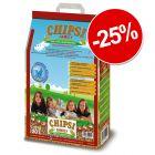 25% reducere! 20 litri Chipsi Family Pelete igienice de porumb